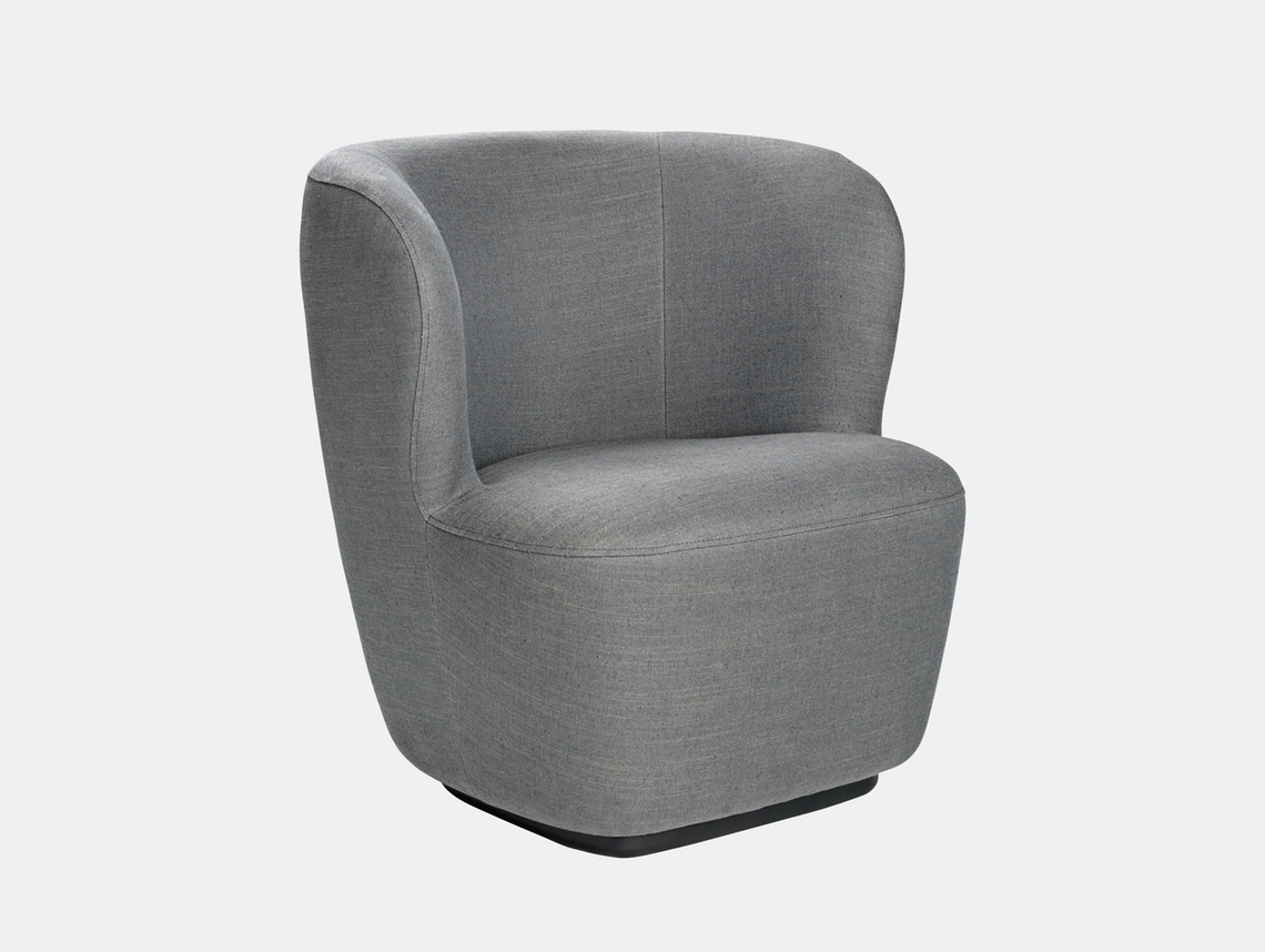 Gubi Stay Lounge Chair Chambray 30 Space Copenhagen