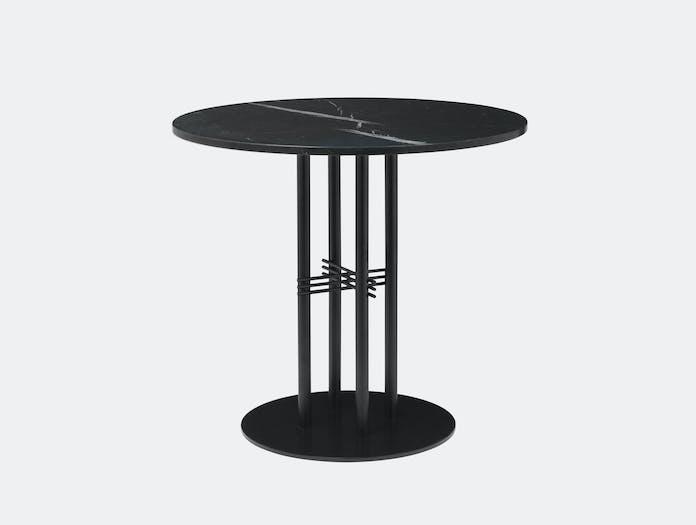 Gubi Ts Column Dining Table Black Marble Gam Fratesi