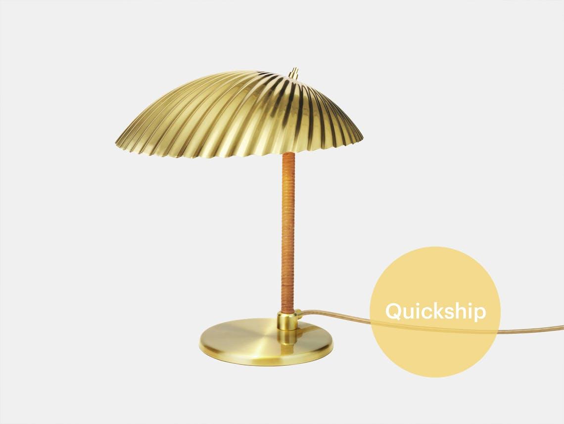 Gubi 5321 table lamp brass tynell qs