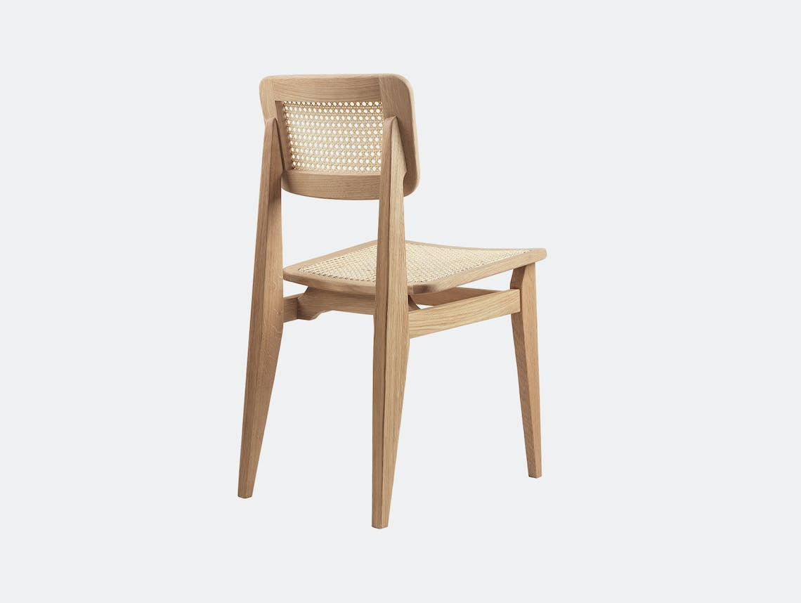 Gubi c chair dining all cane oil oak 2