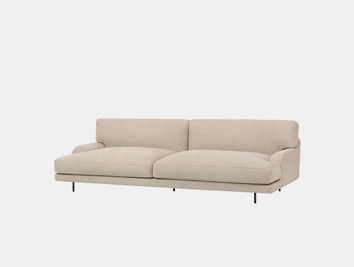 Gubi flaneur 2 5 seat sofa jab dolcelino 1202 72 blk d