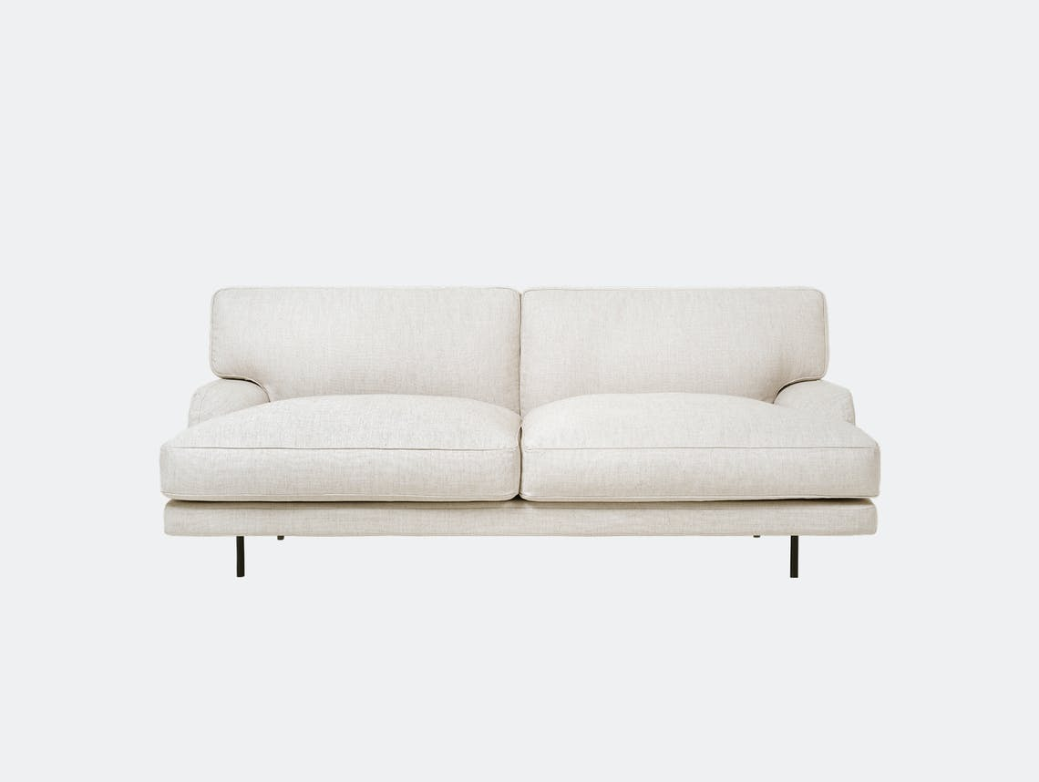 Gubi flaneur 2 seat chambray 24 blk