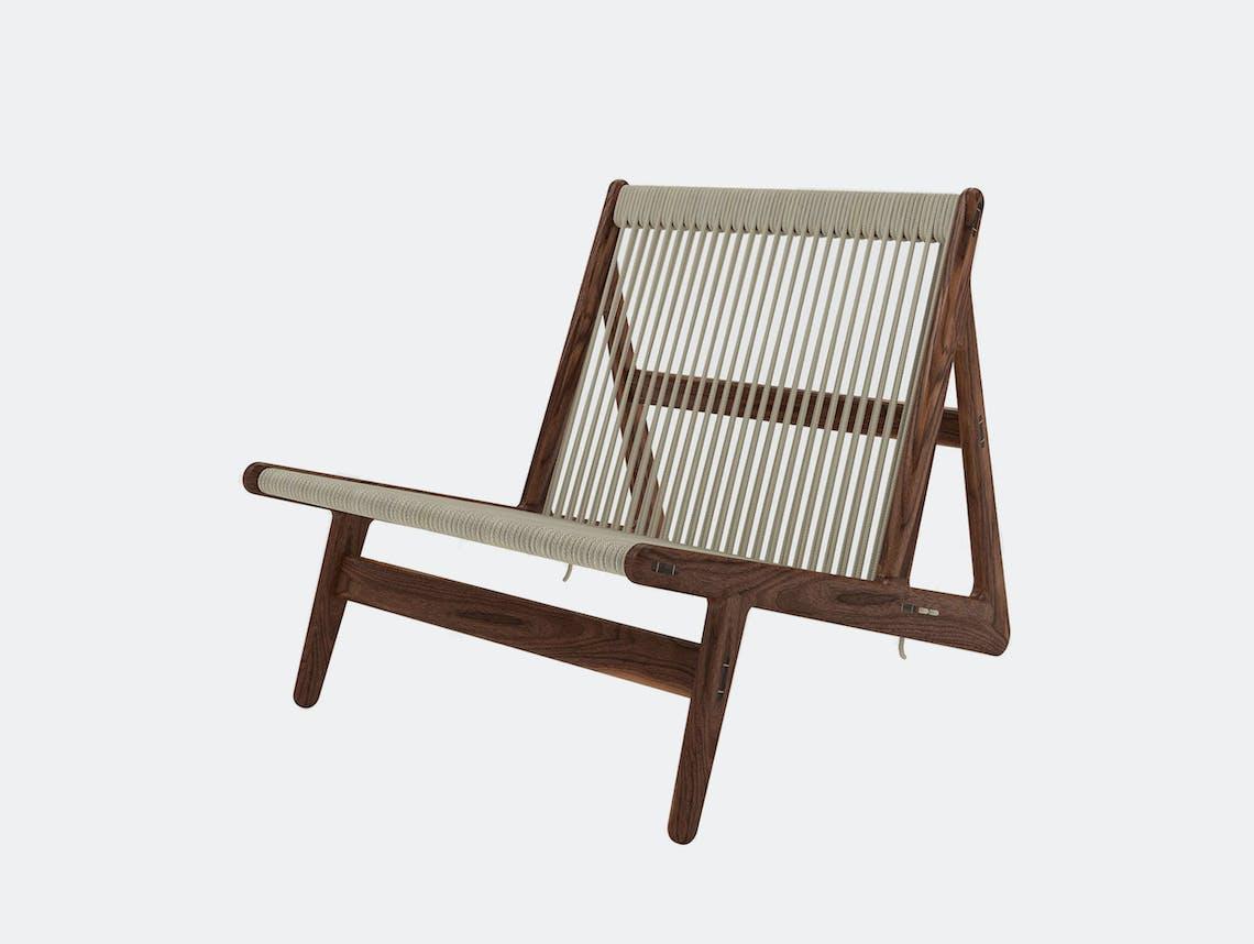 Gubi mathias steen MR01 initial chair walnut