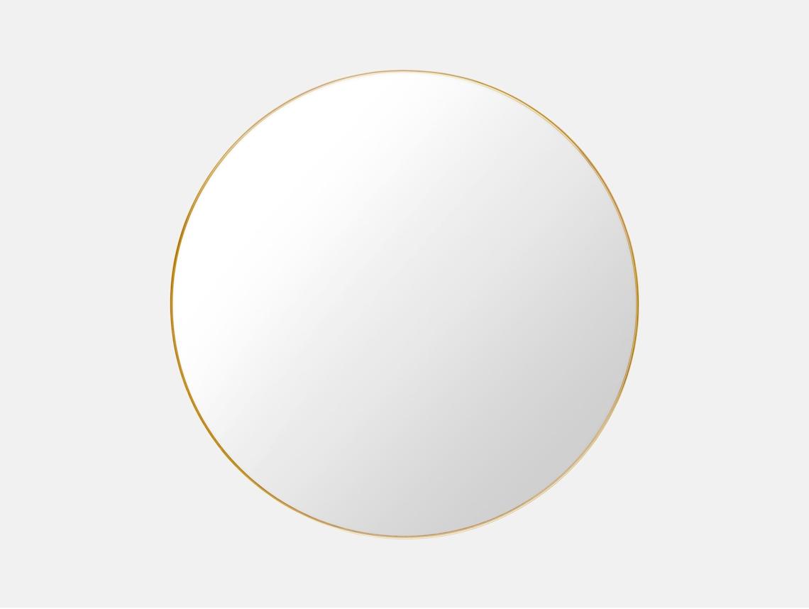Gubi Mirror Brass