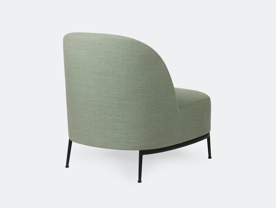 Gubi sejour lounge chair without arms 2