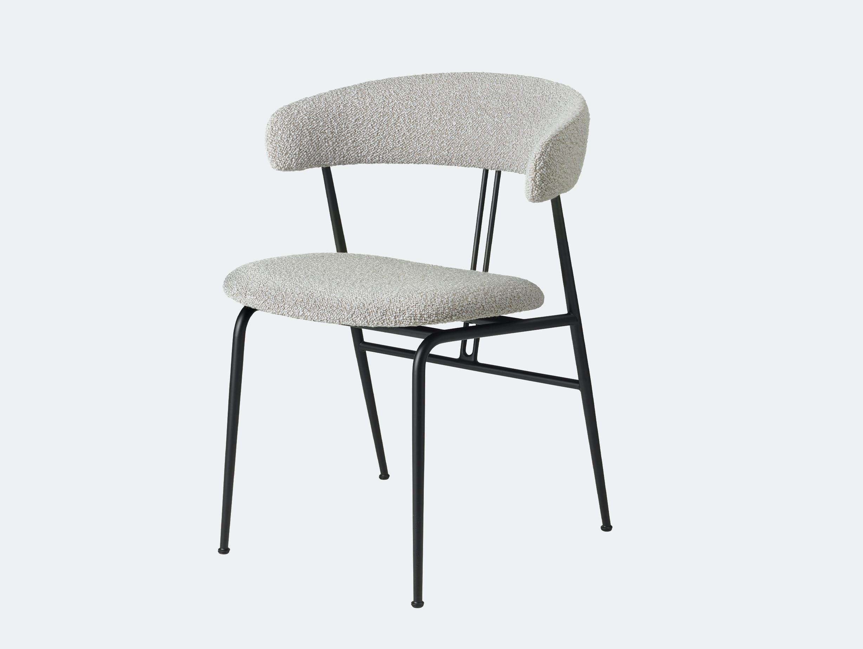 Gubi violin chair fully upholstered karakorum 004