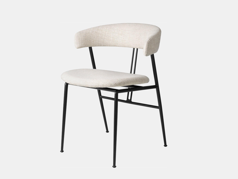 Gubi violin chair fully upholstered svevo 002