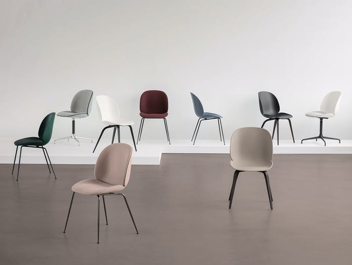 Gubi Beetle Chair Collection Gam Fratesi