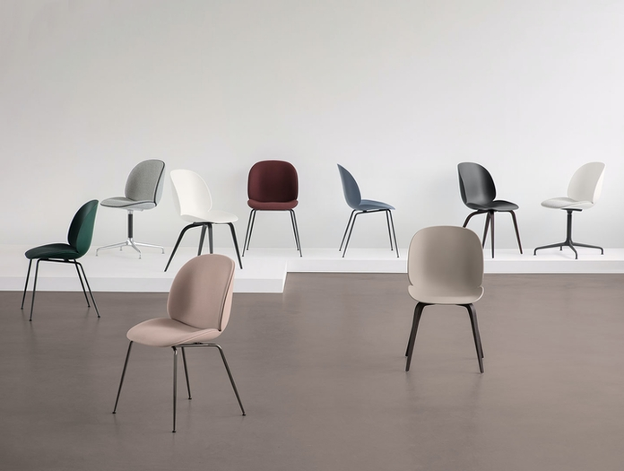 Gubi Beetle Chair Collection Gam Fratesi
