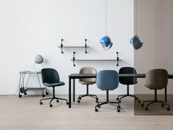 Gubi Beetle Chairs Conference With Castors Gam Fratesi