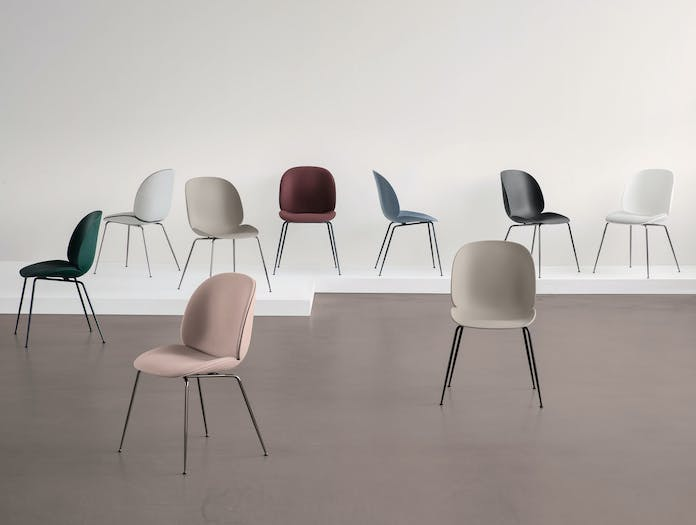 Gubi Beetle Chairs Gam Fratesi