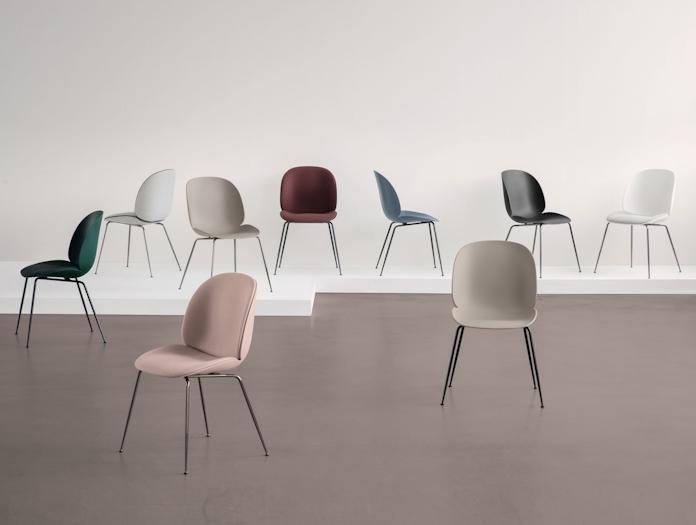 Gubi Beetle Chairs Gam Fratesi