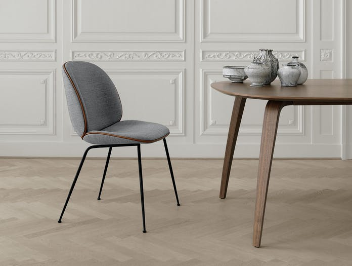Gubi Beetle Chair Gubi Dining Table Elliptical