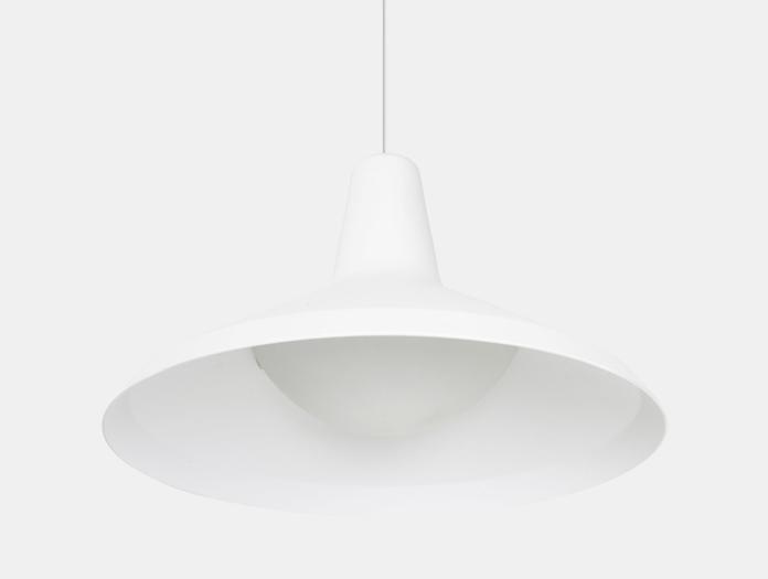 Gubi G10 Pendant Light White Detail Greta Grossman