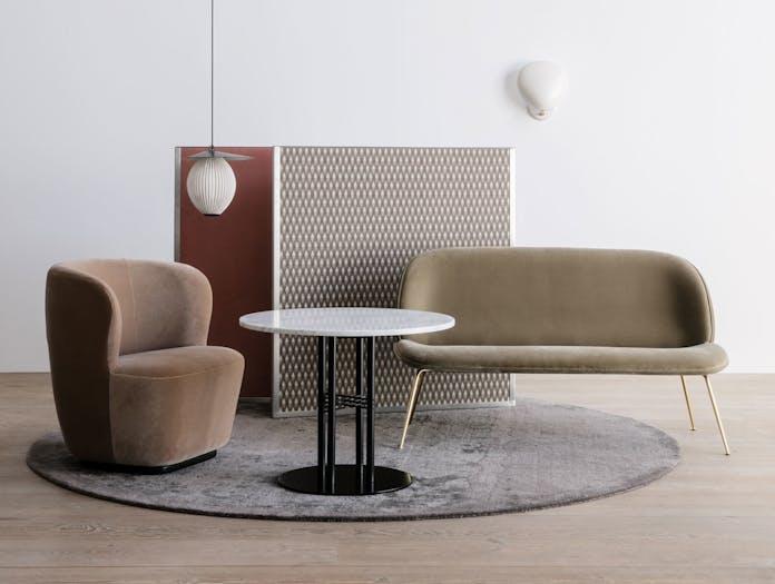 Gubi Stay Lounge Chair Satellite