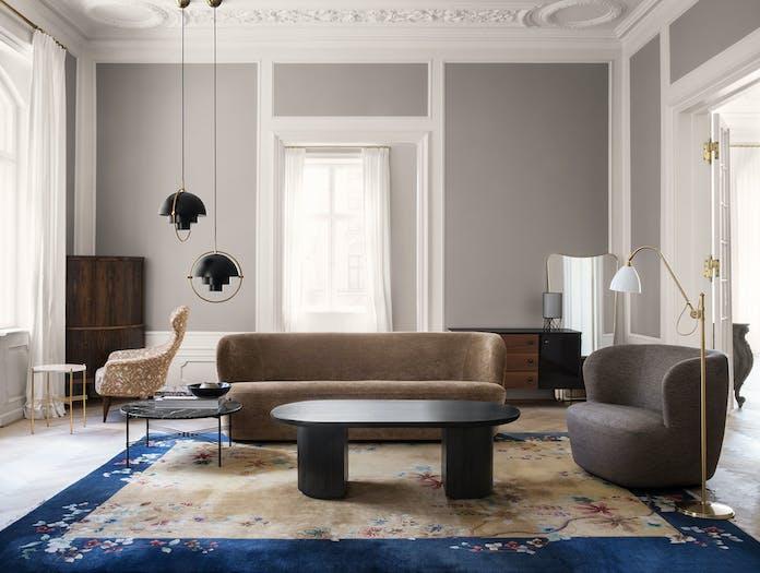Gubi Stay Lounge Chair Multi Lite Pendant