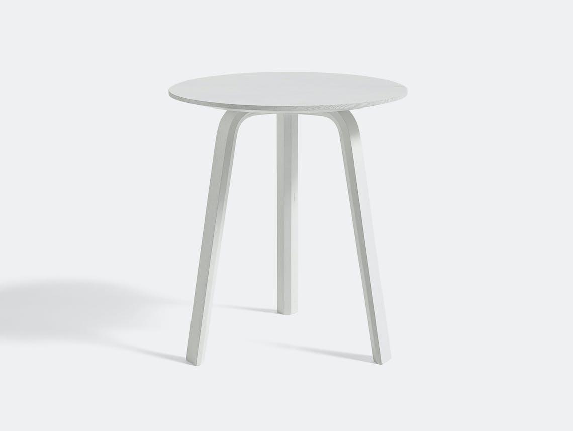 HAY bella high table white
