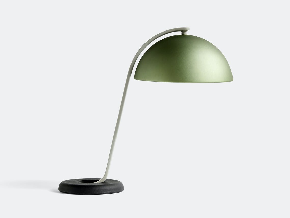HAY cloche table lamp mint green ct