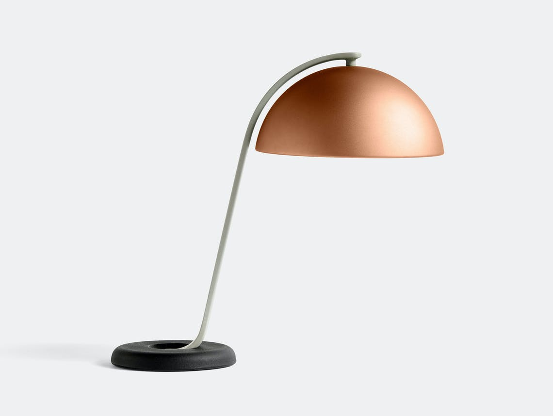 HAY cloche table lamp mocca ct