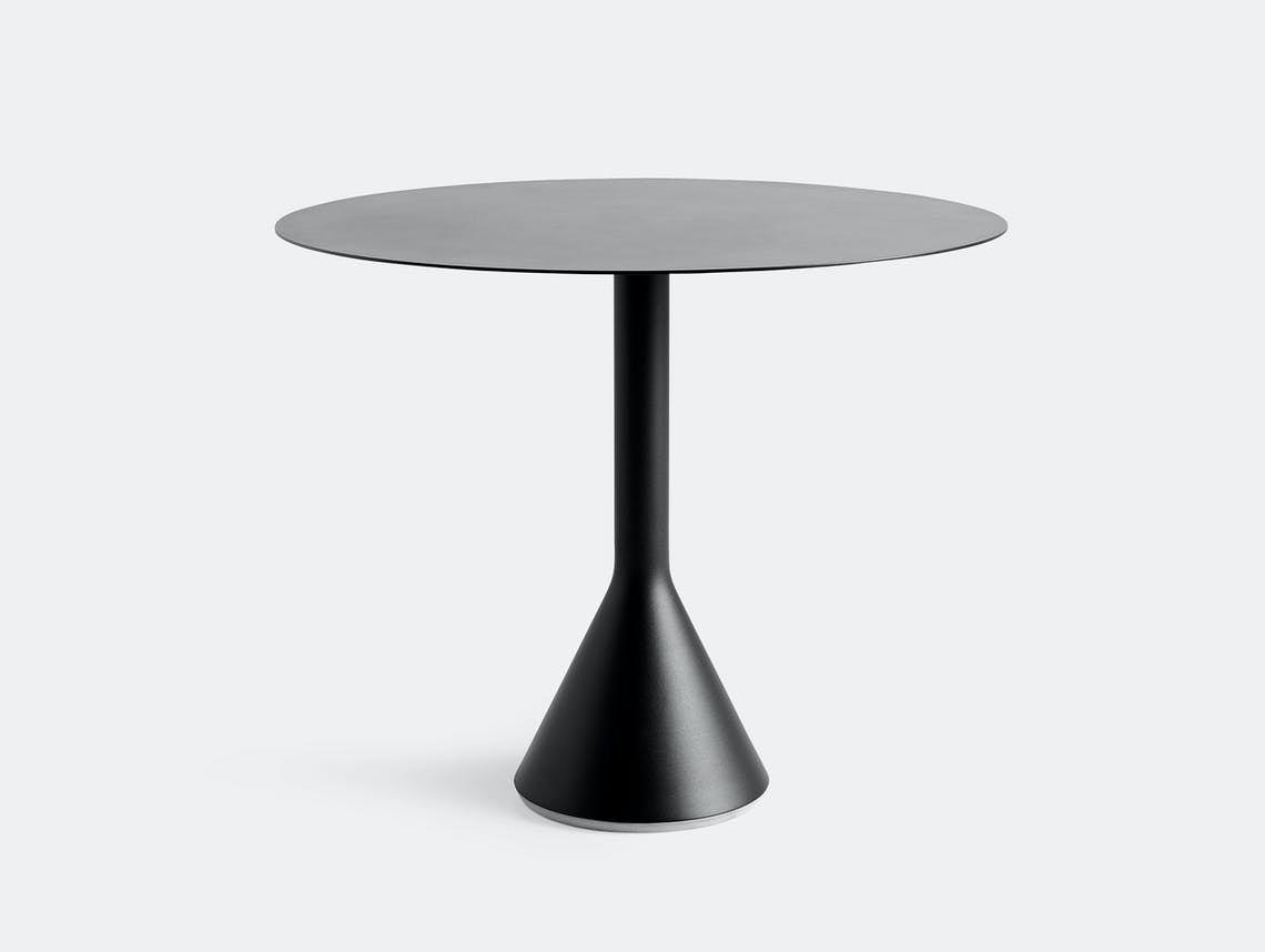HAY palissade cone table round 90 anthracite