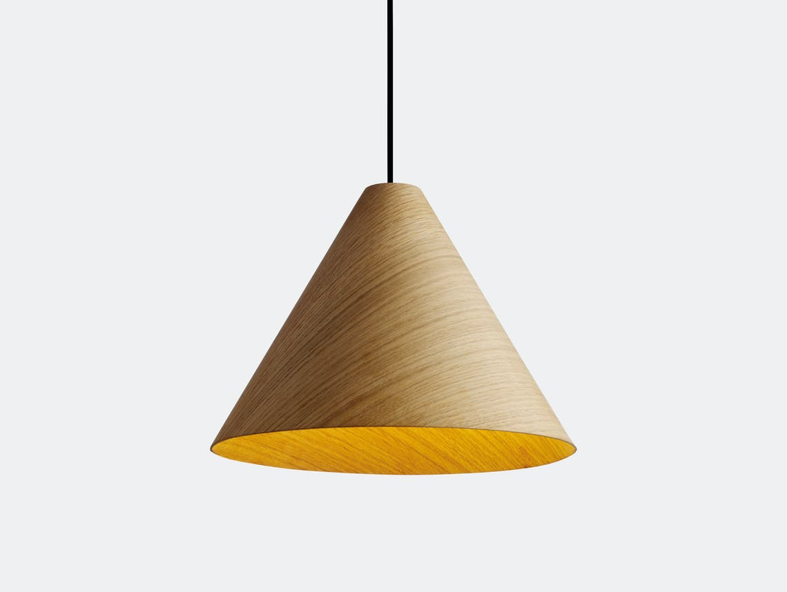 Hay 30 Degrees Pendant Light M Natural Johan Van Hengel