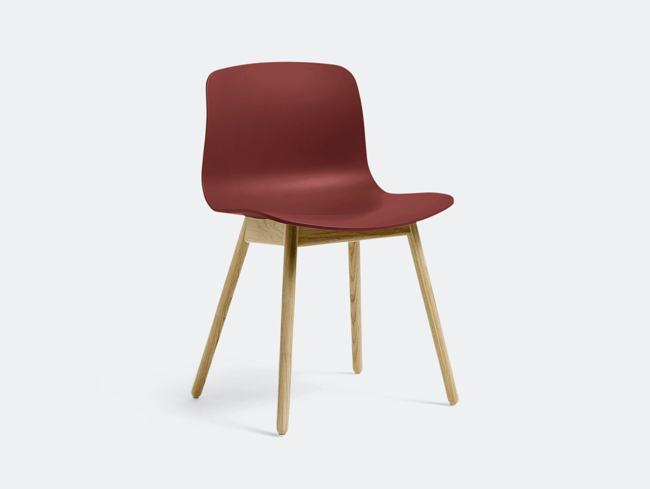 Hay Aac12 About A Chair Brick Red Hee Welling