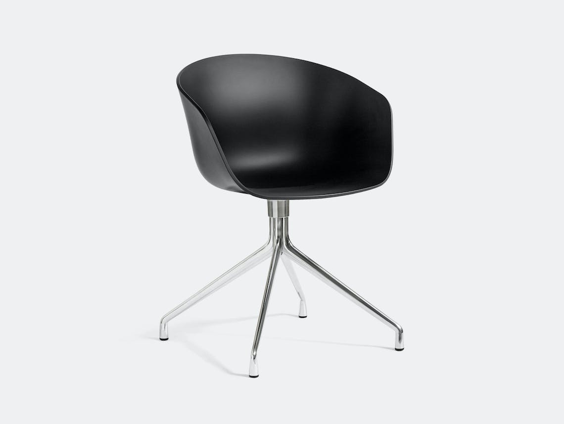 Hay Aac20 About A Chair Black Hee Welling