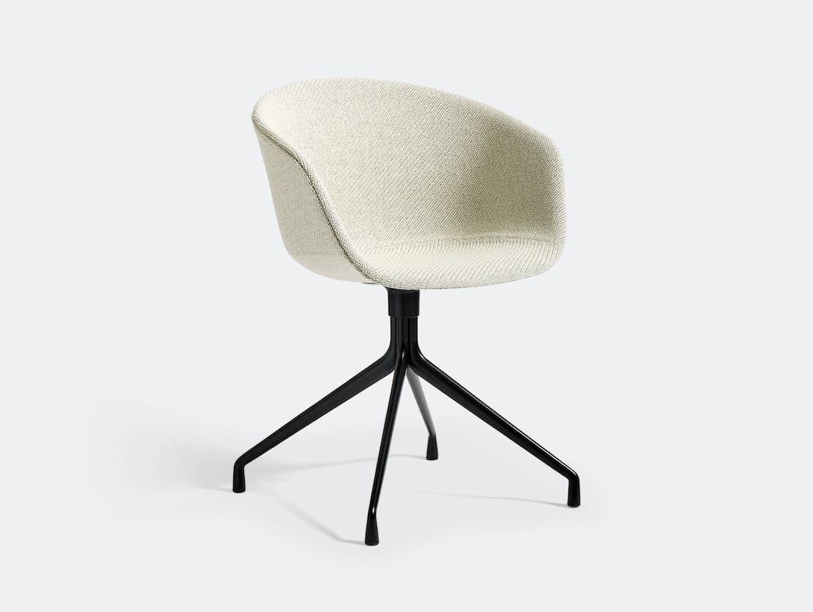 Hay Aac21 Chair Black Base Coda 100 Hee Welling