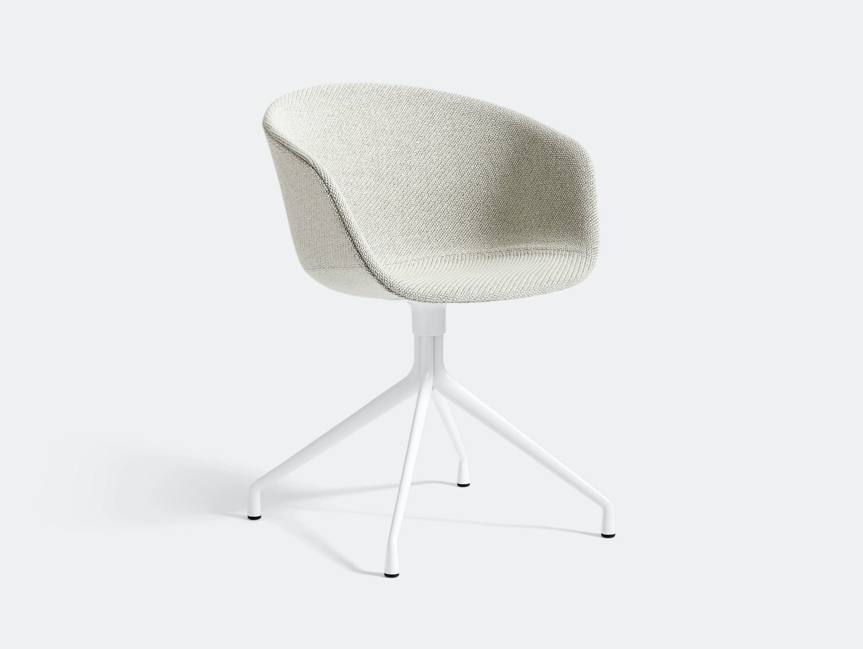 Hay Aac21 Chair White Base Coda 100 Hee Welling