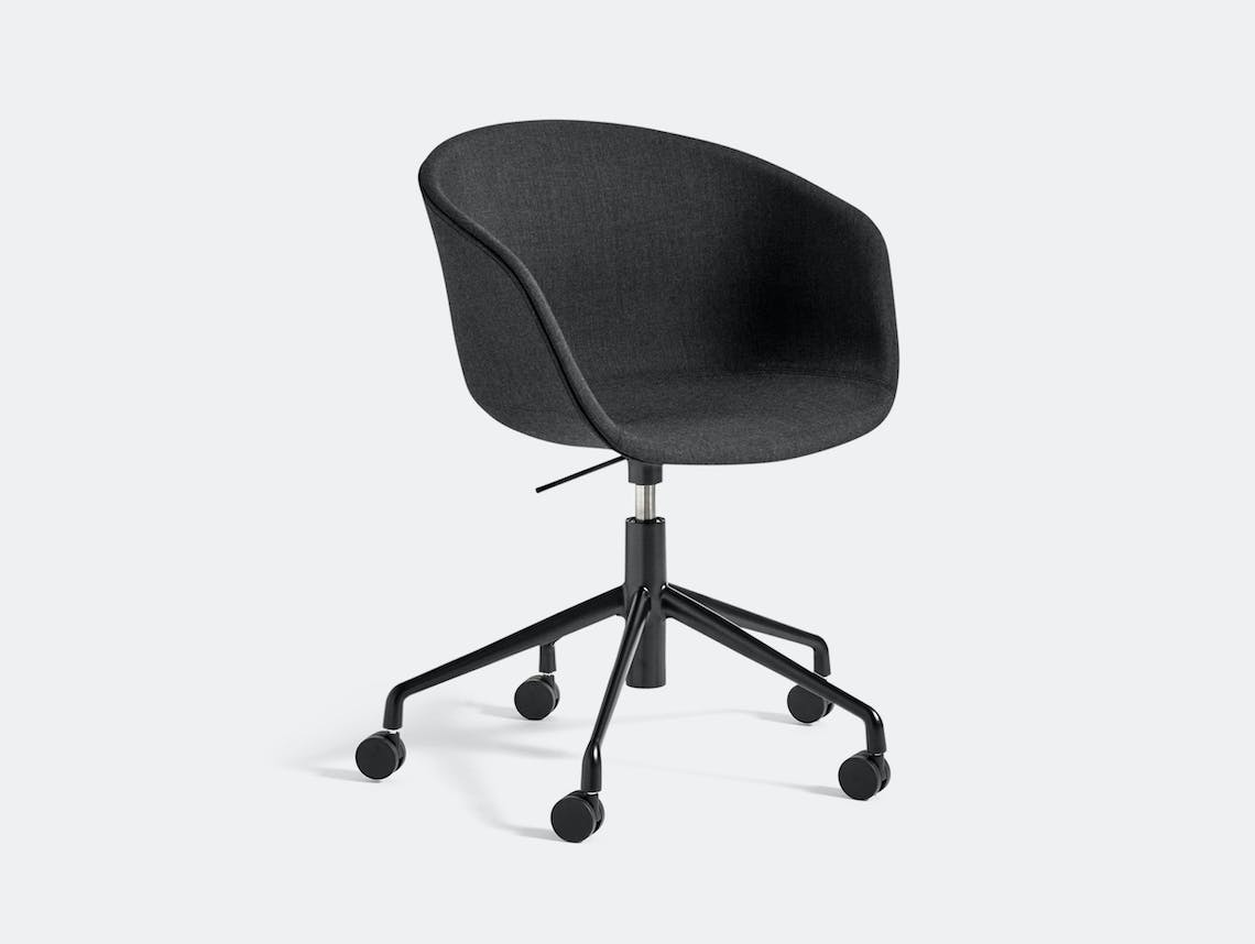 Hay Aac53 Chair Black Base Remix 183 Hee Welling