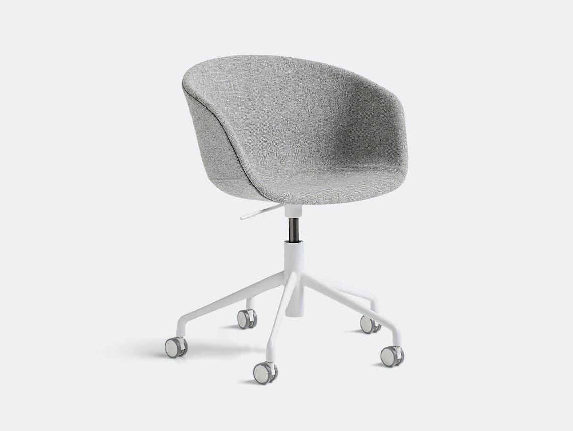Hay Aac53 Chair White Base Hallingdal 130 Hee Welling