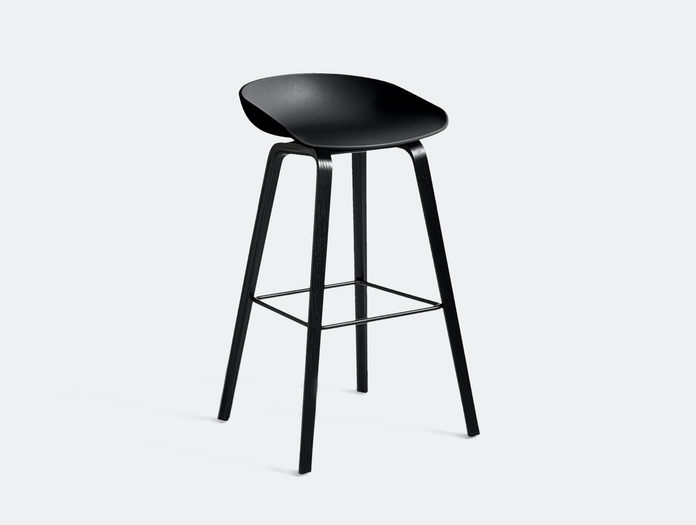 Hay Aas32 About A Stool Black Black Hee Welling