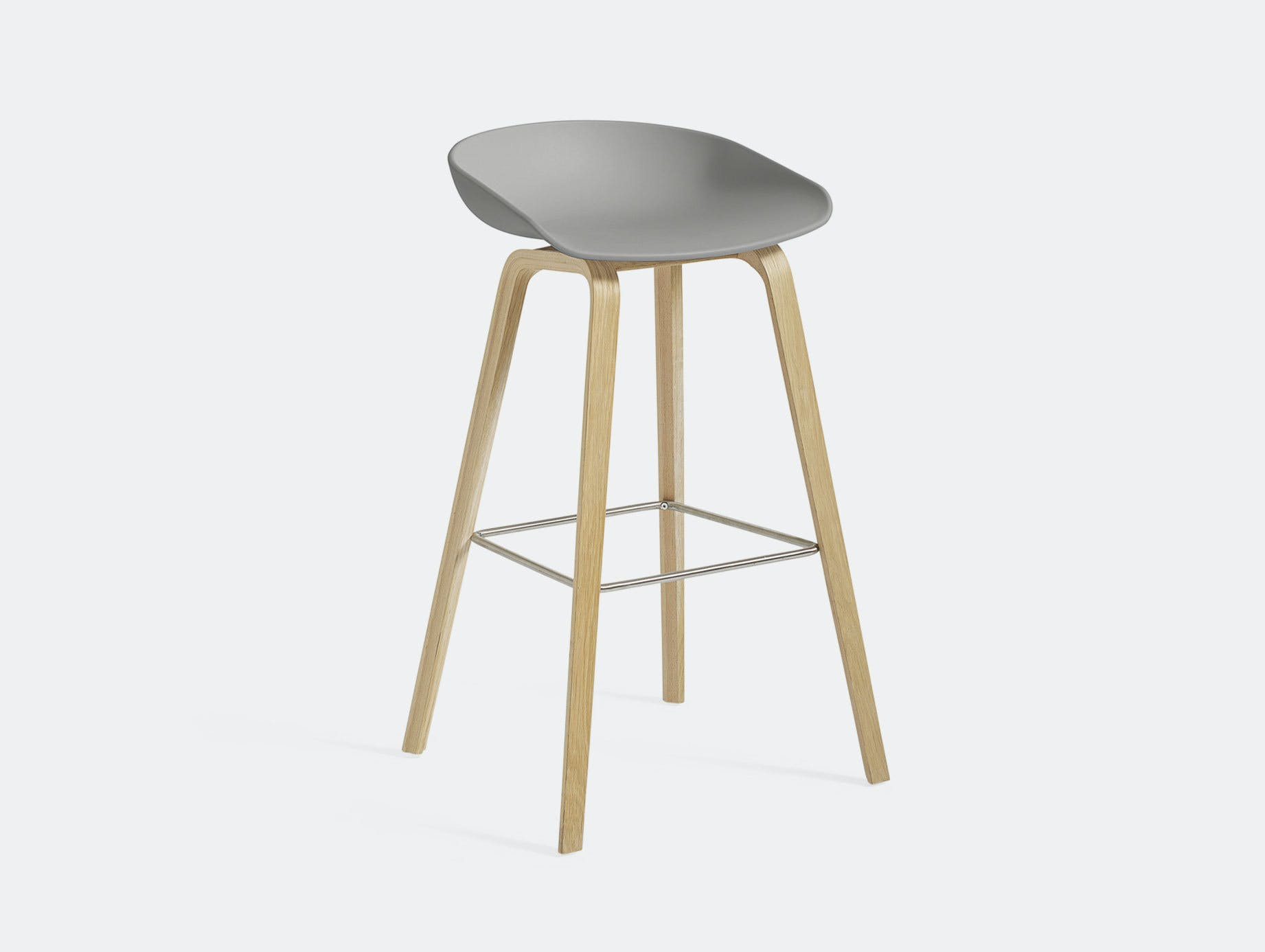 Hay Aas32 About A Stool Concrete Grey Hee Welling