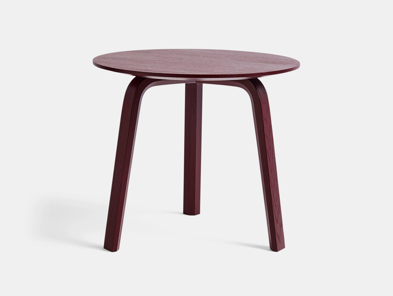 Hay Bella Coffee Table 45X H39 Dark Brick