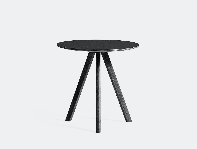 Hay Cph20 Side Table Black Ronan Erwan Bouroullec
