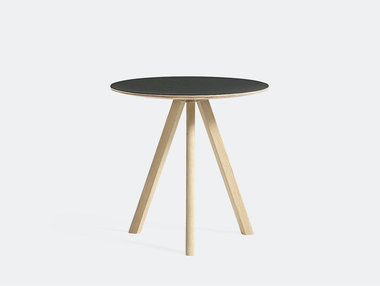 Hay Cph20 Side Table Oak Black Lino Ronan Erwan Bouroullec