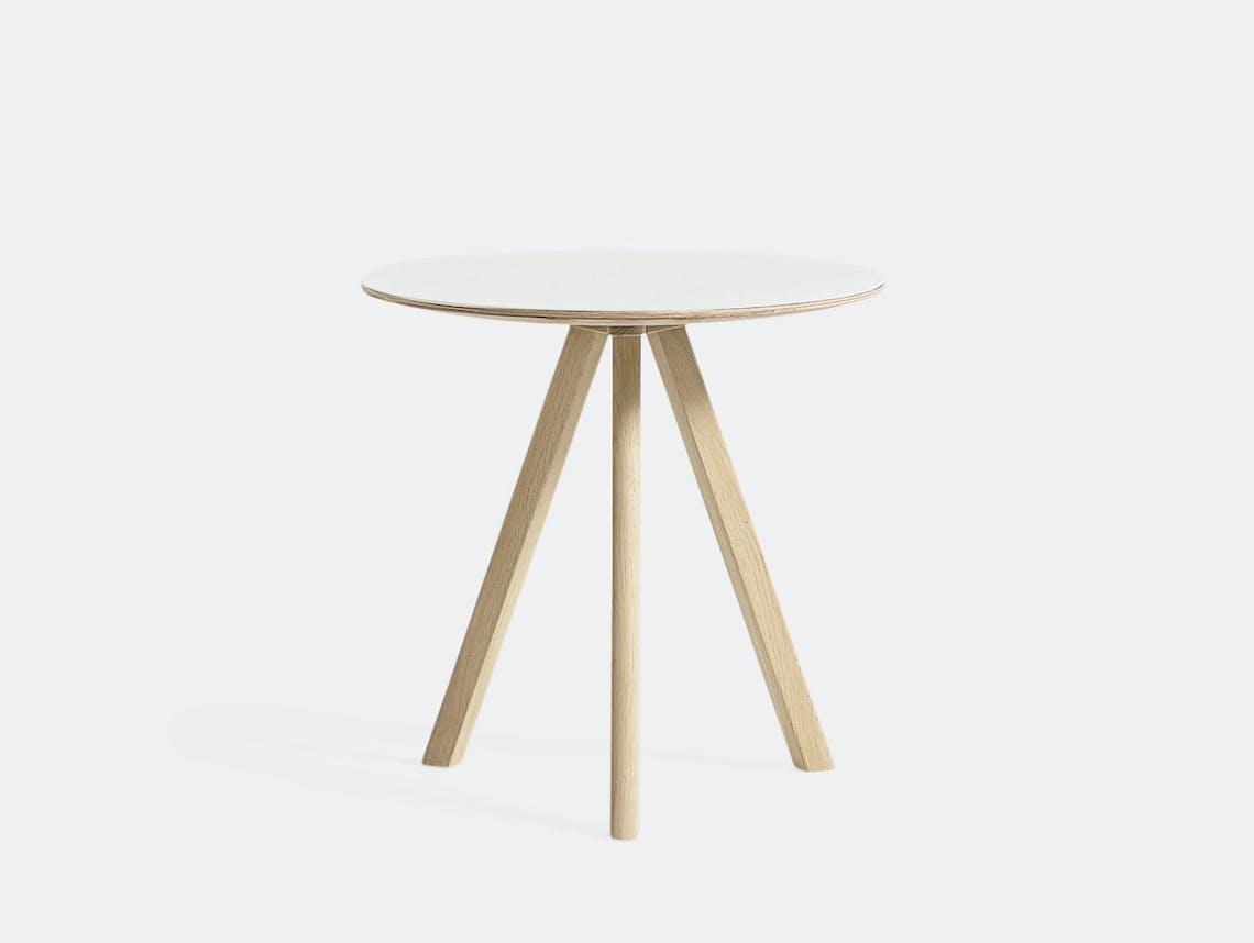 Hay Cph20 Side Table Oak White Ronan Erwan Bouroullec