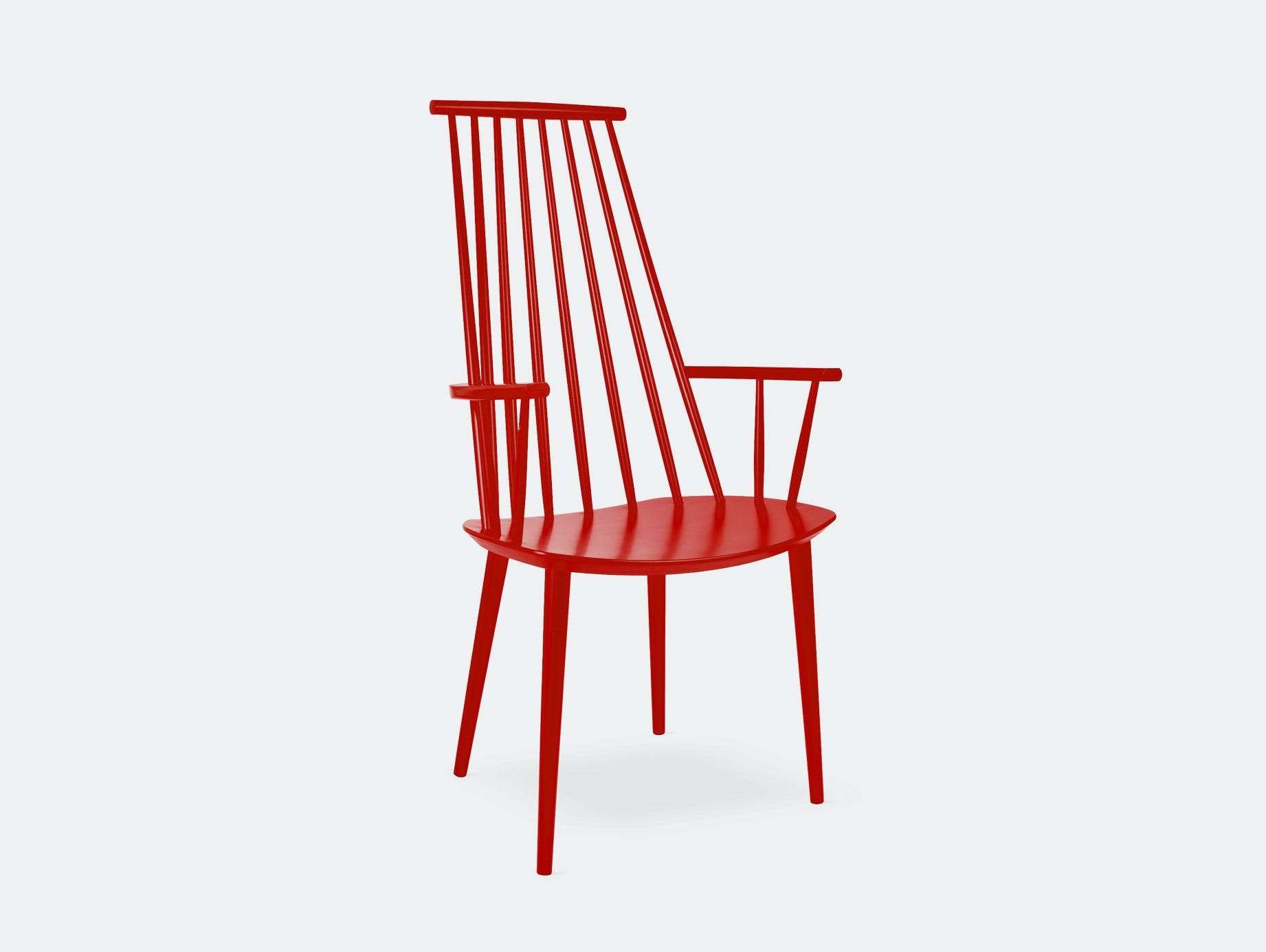 Hay J110 Chair Red Poul M  Volther