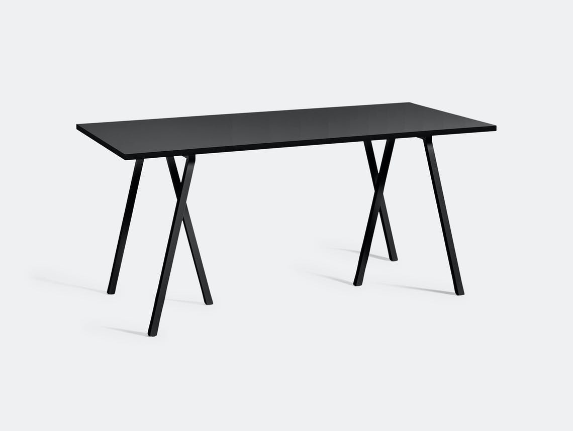 Hay Loop Stand Table L160 Black Leif Jorgensen