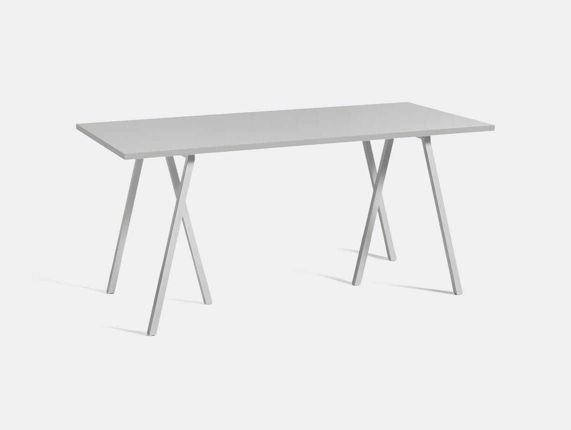 Hay Loop Stand Table L160 Grey Leif Jorgensen
