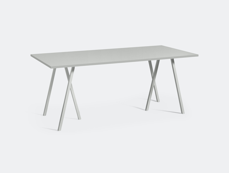 Hay Loop Stand Table L180 Grey Leif Jorgensen