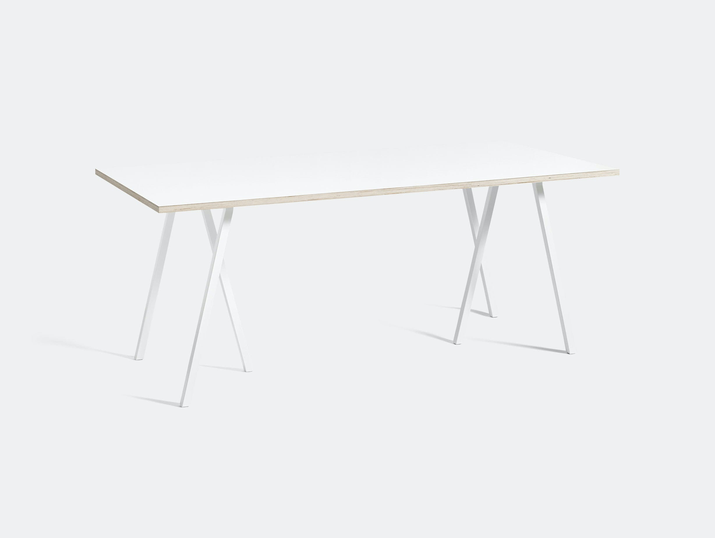 Hay Loop Stand Table L180 White Leif Jorgensen