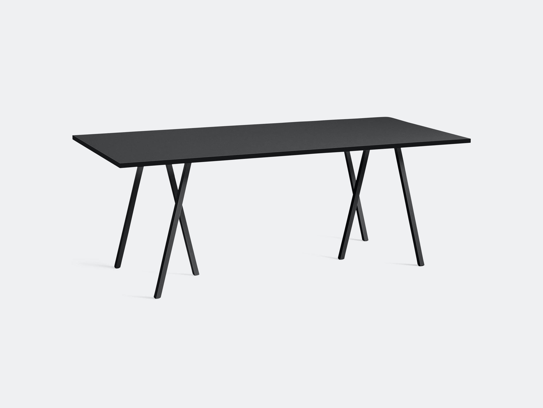 Hay Loop Stand Table L200 Black Leif Jorgensen