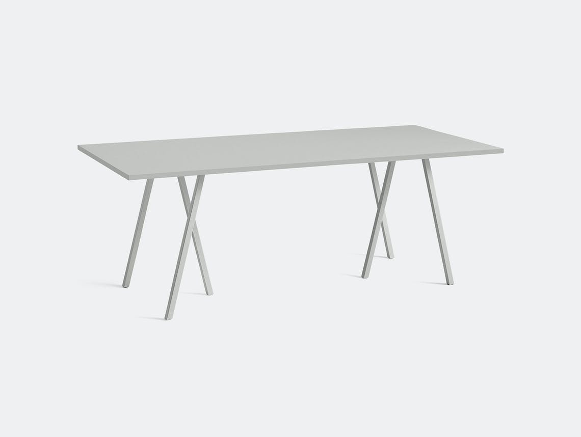 Hay Loop Stand Table L200 Grey Leif Jorgensen