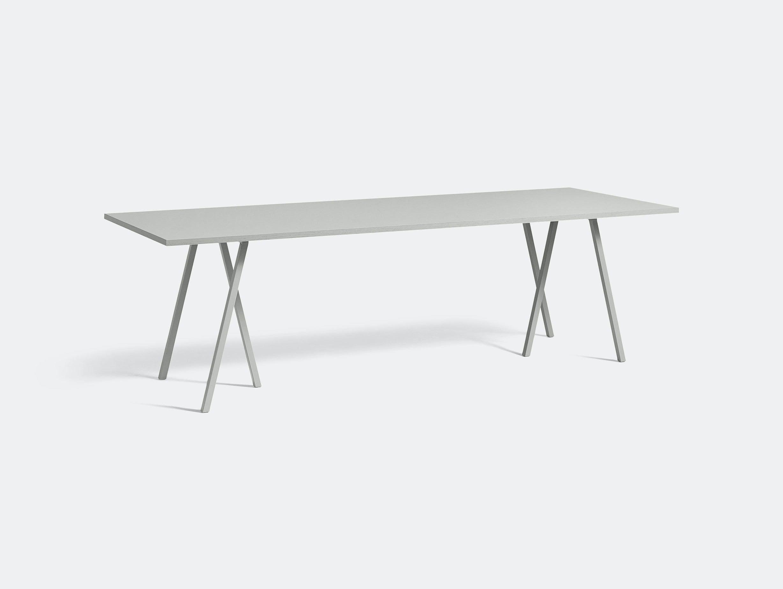 Hay Loop Stand Table L250 Grey Leif Jorgensen