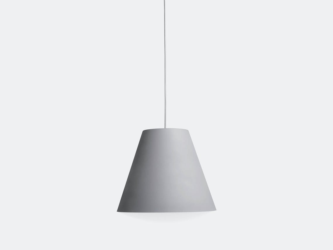 Hay Sinker Pendant L Dusty Grey