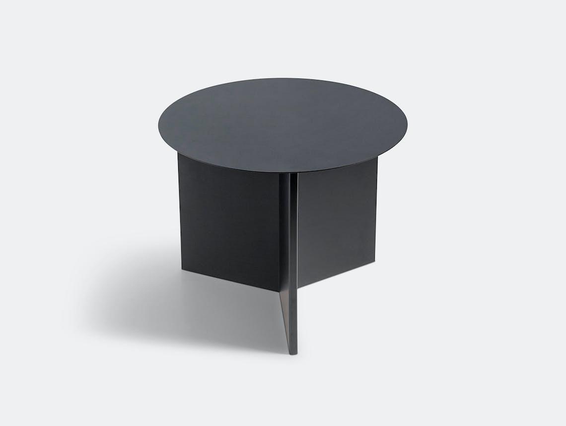 Hay Slit Table Round Black