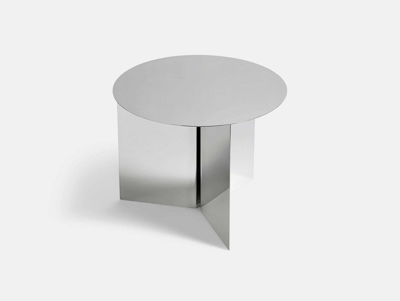 Hay Slit Table Round Mirror