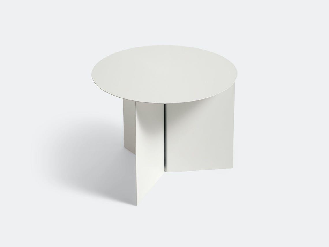 Hay Slit Table Round White