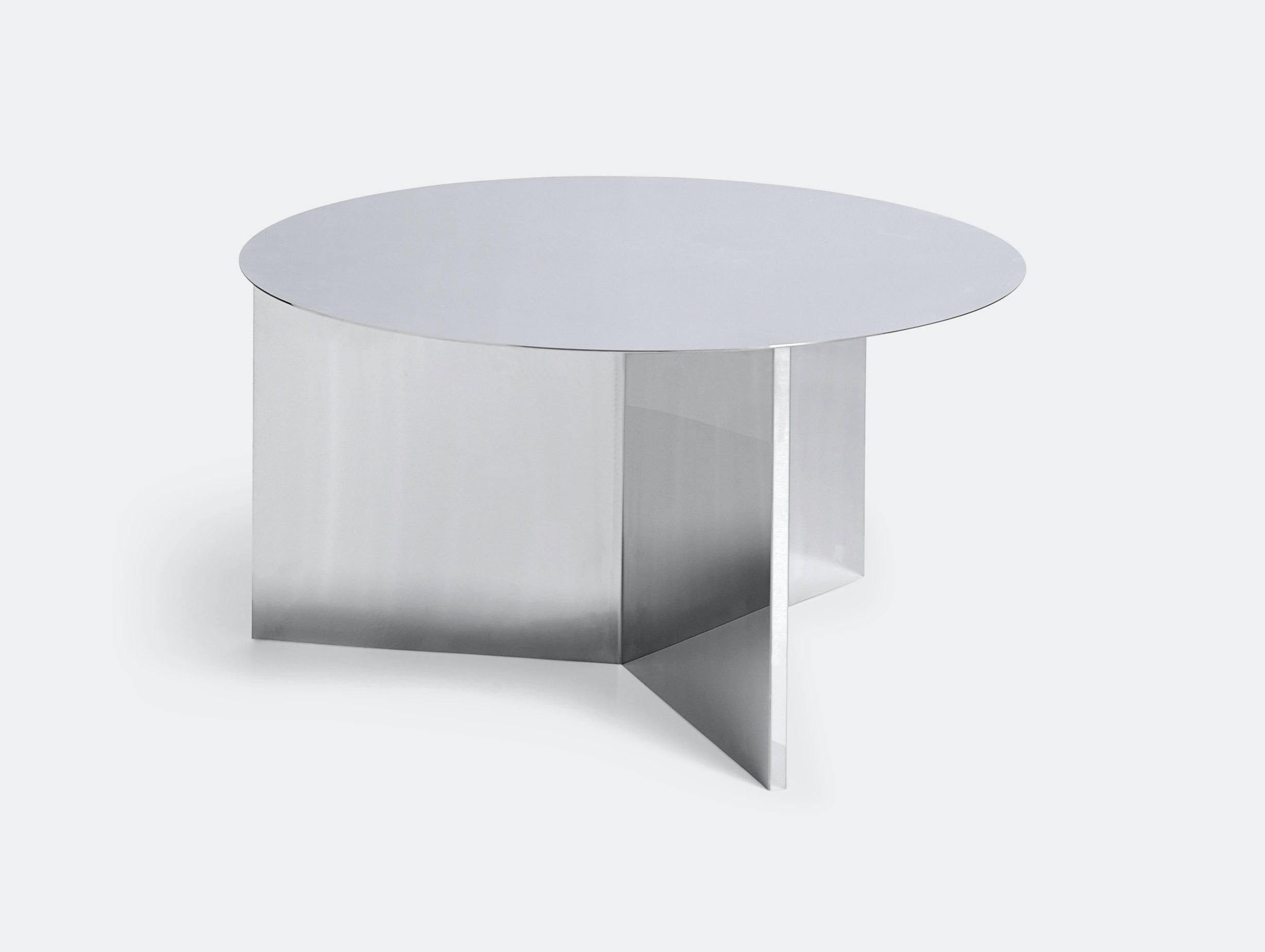 Hay Slit Table Xl Polished Mirror